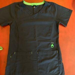 Carhartt navy scrubs
